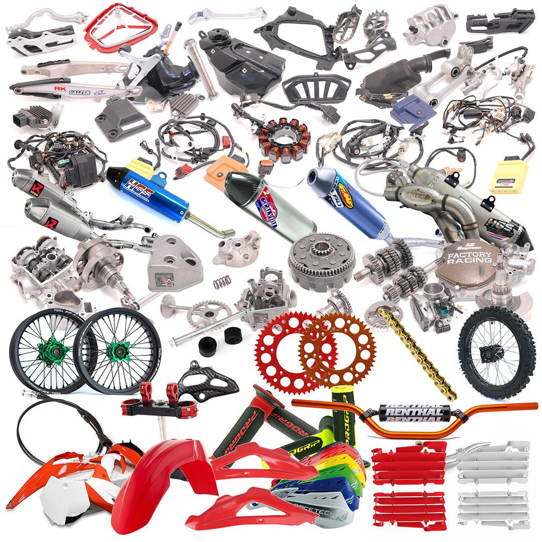 Blocco componenti moto homepage